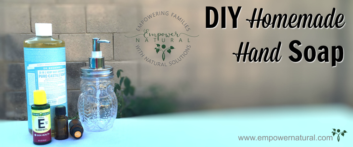 DIY Homemade Hand Soap